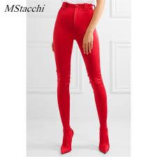 Mstacchi Sexy <b>Female Europe Fashion Boots</b> Cuts <b>Women's</b> Large ...