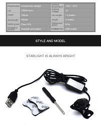 <b>CARCTR USB</b> LED <b>Car</b> Decorative Lamp <b>Auto</b> Light Meteor Star ...