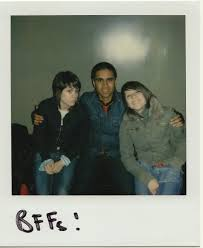 so jealous vivek shraya a polaroid photo of vivek his arms around tegan and sara a