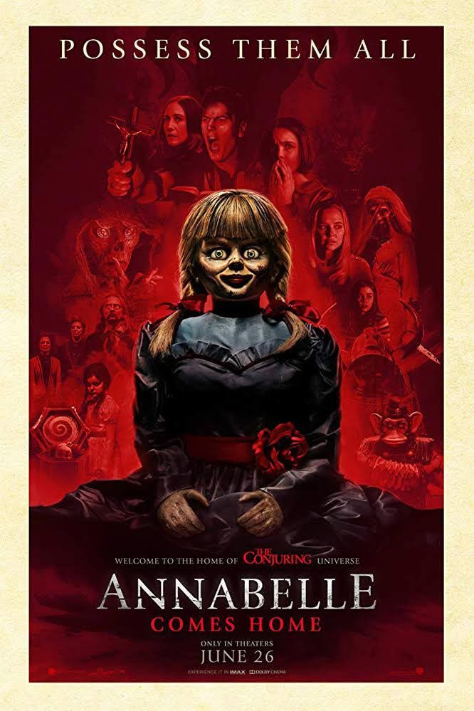 Download Annabelle Comes Home 2019 {Hindi-English} 480p | 720p | 1080p BluRay [Full Movie]