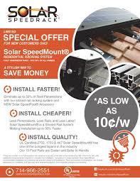 introductory offer for speedmount system solar speedrack blog flyer 6 001