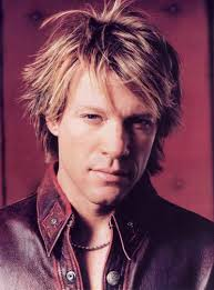 Jon Bon Jovi was born John Francis Bongiovi, Jr. in Perth Amboy, the son of two former Marines, barber John Francis Bongiovi, Sr. and Playboy Bunny turned ... - JonBonJovi