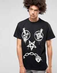 <b>Oversize</b>-<b>футболка</b> Long X <b>Mishka</b> Vex | ASOS