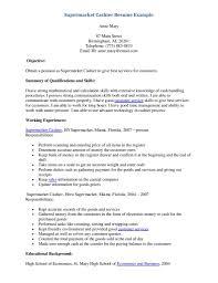 Sample Resume Cashier     sample resume for cashier   job and     happytom co Grocery Cashier Resume Example   sample resume cashier
