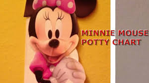 minnie mouse potty chart  minnie mouse potty chart 1