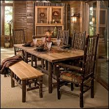 rustic style home cabin furniture ideas