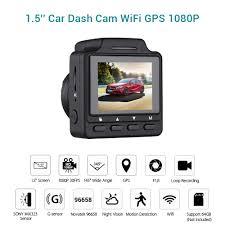 <b>WONVON Car</b> Dash Cam <b>DVR</b> Full HD 1080P <b>Car DVRs</b> GPS WiFi ...