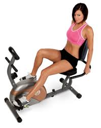 Marcy <b>Recumbent Exercise Bike</b> Home <b>Indoor</b> Fitness Cardio ...