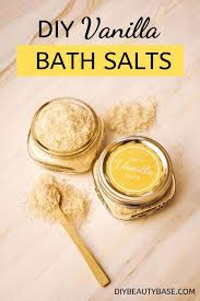 <b>Easy Vanilla</b> Bath Salt | Recipe (With images) - Pinterest