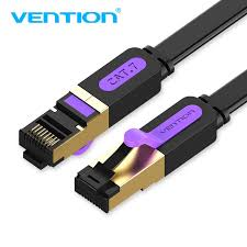 Vention <b>Ethernet</b> Cable RJ45 CAT7 <b>Flat Lan</b> Cable High Speed ...