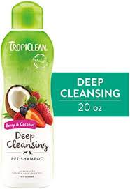 <b>TropiClean</b> Berry & Coconut <b>Deep Cleansing Shampoo</b> for Pets, 20oz