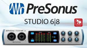 <b>Аудиоинтерфейс PRESONUS STUDIO</b> 68 - YouTube