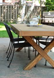 room features farmhouse diy outdoor table room features farmhouse build farmhouse table perfectly imperfect diy build your own rustic furniture