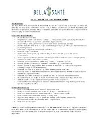 essay medical office assistant job description sample job essay receptionist job description resume resume exampl duties of front medical office assistant