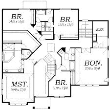 House Blueprint details  floor plansupper floor house blueprint