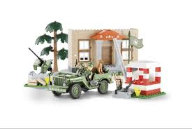 <b>Конструктор COBI</b> Джип <b>Jeep Willys</b> MB Barracks COBI-24302 ...