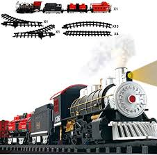 FULiYEAR Toy Train Set, Classical Battery Powered ... - Amazon.com