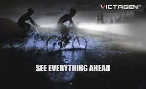 victagen Bike Light, Bicycle Light 2400 Lumens USB ... - Amazon.com