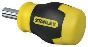 <b>Отвертка Stanley</b> Multibit <b>Stubby</b> 0-66-357. 6 вставок - отзывы ...