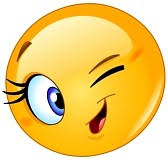 Image result for smiley clin d'oeil