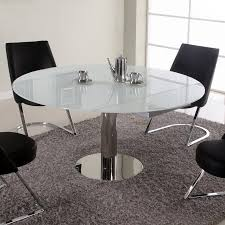 extendable dining table set:  chintaly tami  piece extendable dining table set