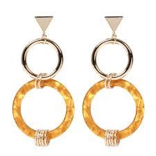 <b>ORNAPEADIA</b> Brand Acrylic fashion <b>earrings</b> Europe and the United ...