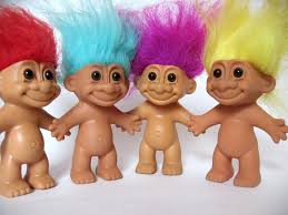 Image result for free pictures of troll dolls to copy