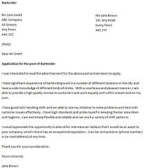 cover letter for a bartender   icover org ukbartender cover letter example  good luck   your job appplication and let us know if you need more help