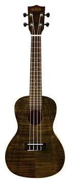 <b>KALA KA</b>-<b>CEMBK</b> Concert Exotic Mahogany Black Ukulele <b>укулеле</b> ...
