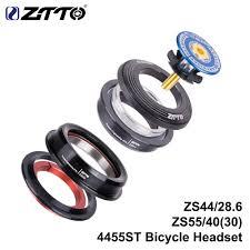 """<b>ZTTO 4455ST MTB Road</b> Bike Headset 44mm 55mm CNC 1 1/8"""" 1 1 ..."""