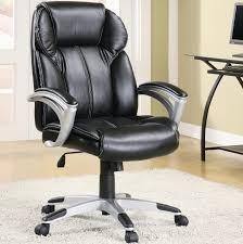 interior furniture office executive office black leather office design