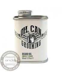 <b>Масло для бороды с</b> ароматом цитруса и дуба Oil Can Grooming ...