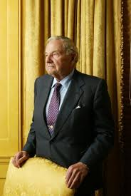 Billionaire Banker David Rockefeller, Former Head Of Chase ...