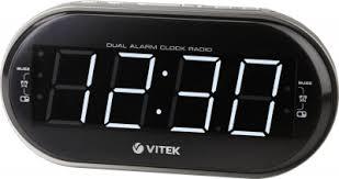 <b>Часы</b> с радио <b>VT</b>-<b>6610 Vitek</b>