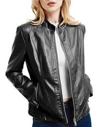 <b>trueprodigy</b> Casual Femme veste en cuir vetements swag marque ...