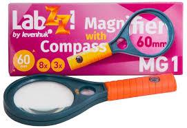 <b>Лупа с компасом</b> Levenhuk LabZZ MG1 купить по цене 250 руб. в ...