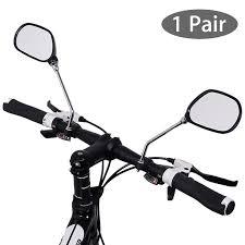 <b>1Pair Bicycle</b> Mobility Scooter Mountain <b>Bike Handlebar</b> Rear View ...