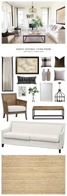 rustic style living room clever: copy cat chic room redo earthy textural living room copy cat chic