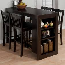 tall dining chairs counter: amazoncom jofran   maryland merlot counter height table with  shelves for storage tables