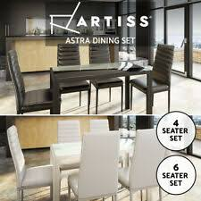 <b>6 Pieces Dining Furniture</b> Sets for sale | Shop with Afterpay | eBay