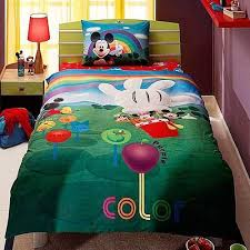 <b>Постельное</b> Белье TAC Disney Mickey Mouse House <b>Colors</b> ...