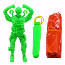 Купить Plastic Ejecting Parachute Toy Outdoor Soldier Hand ...