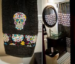 Skull Bathroom Decor Sugar Skull Bathroom Decor Hozdeco Home Design Decorating
