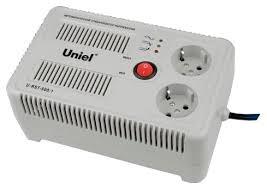 <b>Стабилизатор</b> напряжения однофазный <b>Uniel U</b>-<b>RST</b>-<b>500/1</b> белый
