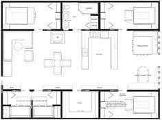 Container houses  House floor plans and Floor plans on PinterestContainer house plan