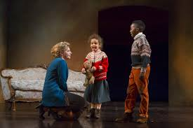 the huntington s production proves there s reason to re a nora helmer played by andrea syglowski her children in a doll s house
