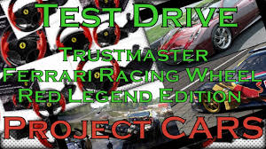 Тест драйв Trustmaster Ferrari <b>Racing Wheel</b> Red Legend Edition в ...