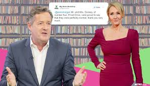 bookshop owner wades into piers morgan and jk rowling s twitter bookshop owner wades into piers morgan and jk rowling s twitter spat metro news