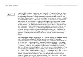 essay on school life  wwwgxartorg an essay on school lifeschool life gcse english marked by teachers com document image preview