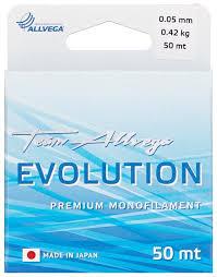 Монофильная <b>леска ALLVEGA</b> EVOLUTION — купить по ...